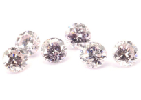 Diamant rose 2,3mm