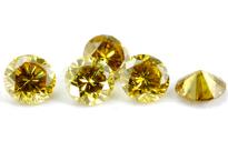 Diamant jaune-vert