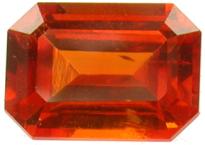 Grenat mandarin 1.4ct