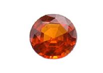 Grenat mandarin calibré 0.57ct