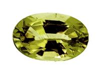 Péridot de météorite 0.52ct