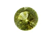 Péridot de météorite 0.13ct
