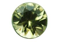 Péridot de météorite 0.08ct