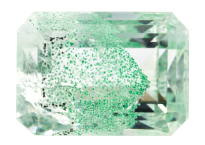 Quartz à Fuchsite 11.11ct