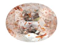 Quartz à Hematite - Lepidocrocite 4.36ct