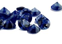 Saphir bleu rond 1.10mm