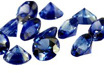 Saphir bleu rond 1.70mm