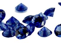 Saphir bleu rond 2.40mm