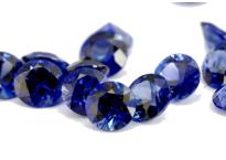 Saphir bleu rond 2.60mm
