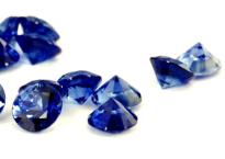 Saphir bleu rond 2.70mm