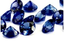 Saphir bleu rond (calibré) 3.1mm