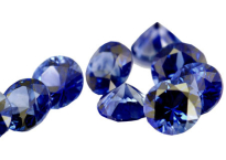 Saphir bleu rond (calibré) 3.4mm