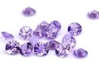Saphir violet  (rond-calibré)