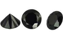 Spinelle noir calibré 15.4ct