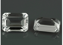 Topaze blanche oct 7x5mm