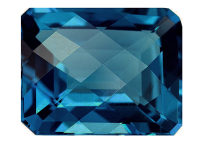 Topaze bleue London Blue 19.39ct (traitée)