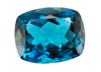 Topaze bleue London Blue 54.48ct (traitée)