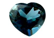 Topaze bleue London Blue calibrée 33.2ct (traitée)