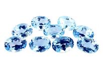 Topaze bleue Sky Blue calibrée 0.53ct (traitée)