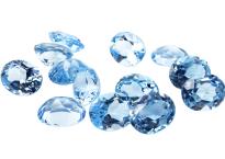 Topaze bleue Sky Blue calibrée 3.5ct (traitée)