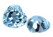 Topaze bleue Sky Blue calibrée 3.1ct (traitée)