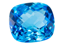 Topaze bleue Swiss Blue (traité) 30.42ct