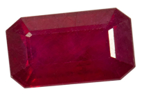 rubis composite, glass field ruby 3.28ct