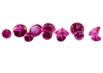 #Saphir-#Sapphire-#fuchsia-#diamond-cut-#eye-Clean - 1.0mm