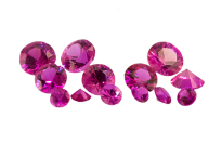 #Saphir-#Sapphire-#fuchsia-#diamond-cut-#Loupe-Clean - 3.9mm