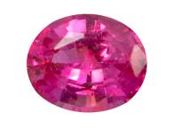 saphir rose - pink sapphire  - 5X4mm
