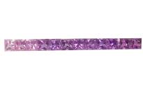 Saphir#Sapphire#green#princess#violet#2.5mm-サファイア.
