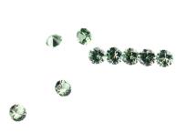 #Saphir#Sapphire#green#round#DiamondCut#サファイア.j