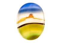 Agate paysage 11.75ct