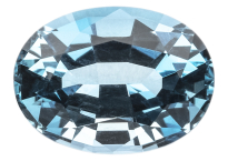Aigue marine vieille mine 1.55ct