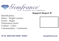 Certificat Gemfrance