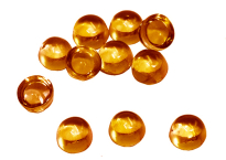 Citrine cabochon 7 mm