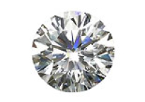 Diamant blanc DE IF VVS1 2.4mm
