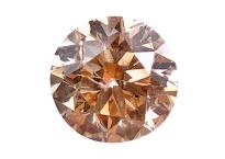 Diamant brun champagne 0.45ct
