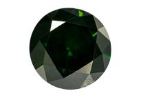 Diamant vert traité, 1.05ct