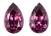 Malaya Garnet pair 5.79ct