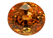 Grenat spessartite 1.66ct