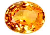 Grenat spessartite 1.26ct