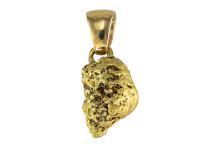 Pendentif - pépite d'or 3.2g