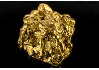 Pépite d'or 0.536g
