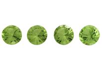 Péridot (olivine) rond 2.0mm