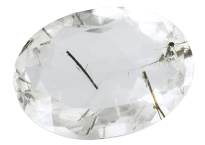 Quartz - tourmaline 39ct