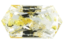 Quartz à inclusions de pétrole 2.67ct