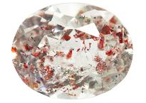 Quartz à Hematite - Lepidocrocite 4.92ct