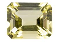 quartz jaune oro verde 11x9mm