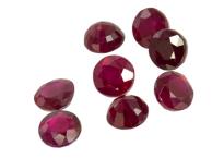 rubis, ruby, ルビー タイ rond round 3mm